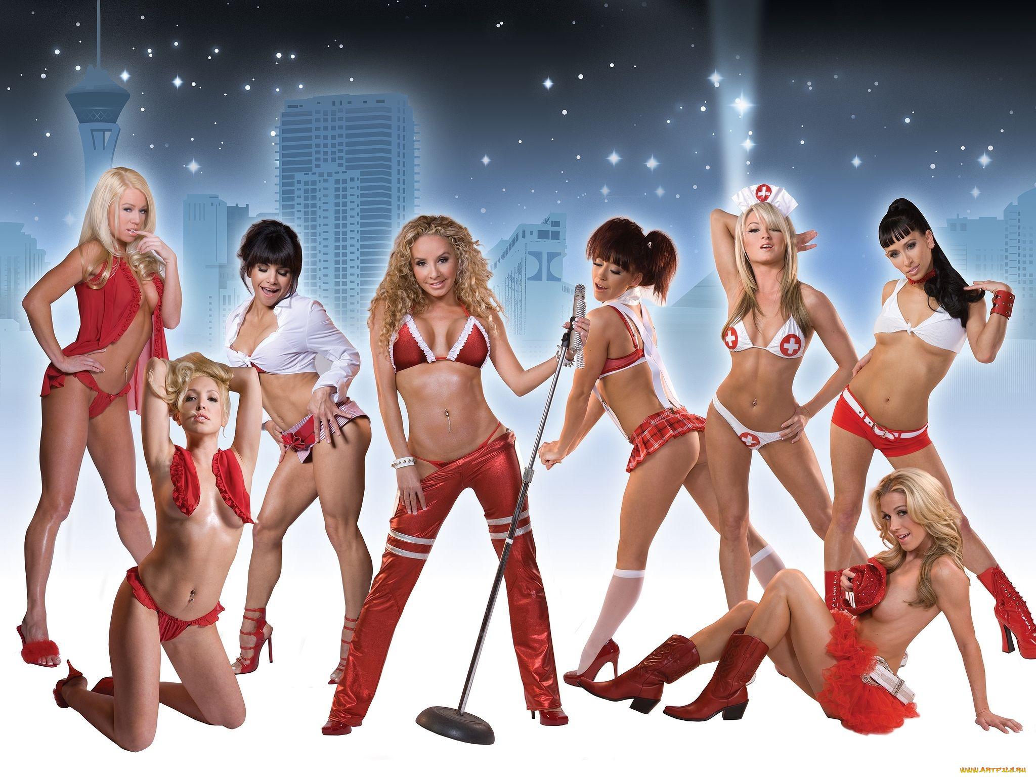 Группа Голых Девочек Порно